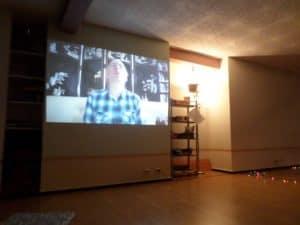 Pasākums Lielais Jaunais. Sala vēstījums Latvijai ar skype palīdzību