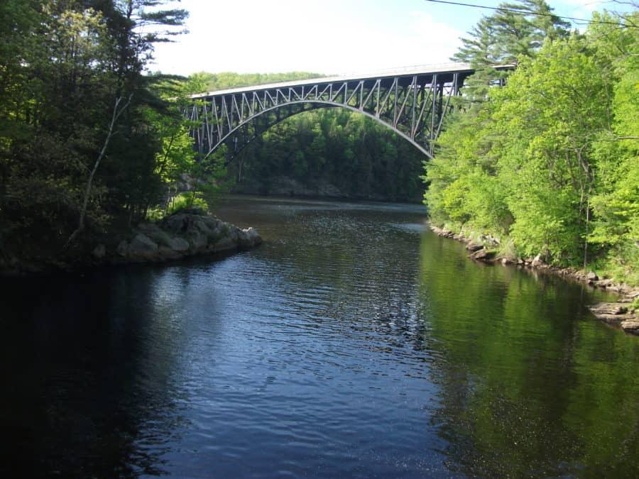 King's Charles Bridge. Vermont. USA. Foto-Baiba