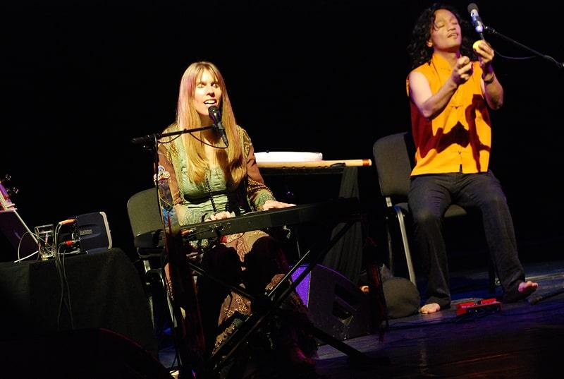 Deva Premal Concert in Riga.